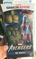"Marvel Legends 6"" Gamerverse Ms. Marvel Avenger Game Exclusive Ms Kamala Khan"