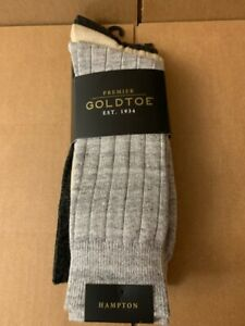 Gold Toe Men's Adc Hampton 3 Pack Casual Socks