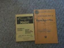 Haenchen & Co catalog no 4 Treasure Chest Catalog no 30