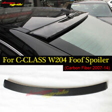 For Benz W204 Roof Spoiler wing Carbon Fiber AC-Style C-Class C63 Look 2007-2014