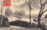 39 - cpa - DOLE - Le canal du Rhône au Rhin