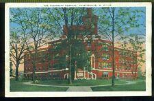The Highsmith Hospital FAYETTEVILLE NORTH CAROLINA NC Unused Vintage Postcard