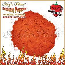 Habanero Powder / Dried Habanero Pepper Powder (1kg=2.2LB) Very Hot Chili Powder