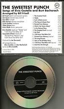 BILL FRISELL ELVIS COSTELLO Sweetest Punch Songs Burt Bacharach ADVNCE PROMO CD