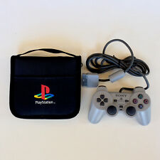 Sony PlayStation 1 Controller Authentic OEM Original & PS1 Game Case Holder