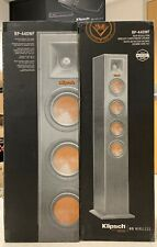 Klipsch RP-440WF HD Reference Wireless Speakers (pair) with RP-HUB1  BRAND NEW