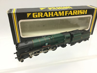 Graham Farish 151A N Gauge BR Green Rebuilt WC/BB 34012 Launceston