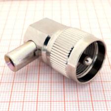 PL 259 (UHF) Winkelstecker für RG58 o.ä. Koaxkabel ( I 00A )