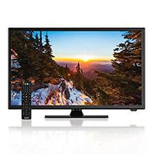 """AXESS 22"""" Inch HD 1080 LED TV 12V DC/AC TV DVD Player VGA/HDMI/USB TVD1805-22"""