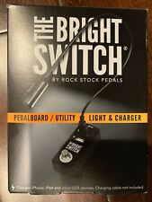 Rock Stock The Bright Switch USB Pedal Board Utility Light