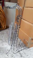 87cm  Metall Vintage Saxophon CD Ständer 90er Jahre