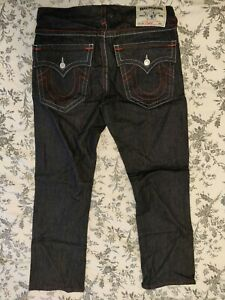 True Religion Men's Straight Cut 33 Jeans