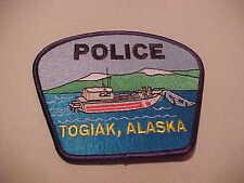 TOGIAK  ALASKA  ISSUE POLICE PATCH **** FREE SHIP U.S.A. ***