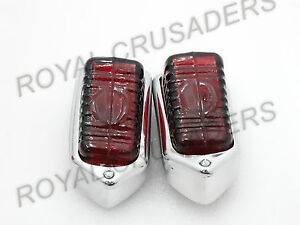 NEW MORRIS MINOR 1949-54 BULBS LUCAS TYPE L471 REAR TAIL STOP LIGHT