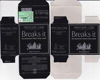 1263) LYALVALE ATKIN G-L BREAK IT FIBRE 12g 70mm 28gr No 7  EMPTYSHOTSHELL BOX