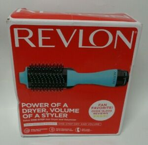 REVLON One-Step Hair Dryer And Volumizer Hot Air Brush, Mint