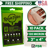"Rosin Press Mesh Filter Bags Squish Ready Filter Bag 2""x4"" 120 Micron 10Pck"