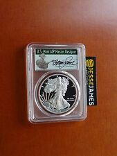 2017 S PROOF SILVER EAGLE PCGS PR70 DCAM THOMAS CLEVELAND FIRST DAY OF ISSUE FDI