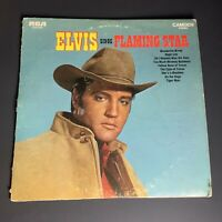 ELVIS PRESLEY ELVIS SINGS FLAMING STAR Vintage Vinyl Record LP RCA 1969