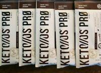 Pruvit Dark Chocolate Keto OS PRO, Protein, Ketones Dairy Free MCT oil 10 packet