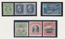 NIUE - COOK ISLANDS - NEW ZEALAND x 7 Stamps as shown