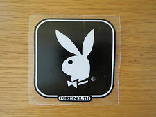 10 VINTAGE 1960s 70s PLAYBOY BUNNY VINYL DECAL STICKERS CAR/VAN/MOTORSCOOTER
