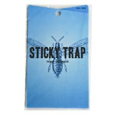 Dl Blue Sticky Traps Mites Thrips Whitefly Leafminers Aphid Save $ W/ Bay Hydro