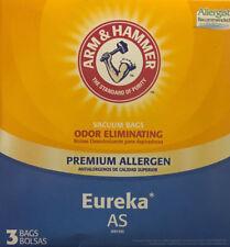 Arm & Hammer Eureka AS Odor Elimininating Premium Allergen Vacuum Bags - 3-Pack