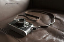 Handmade Real Leather camera strap neck strap for DSLR Film camera 01-081