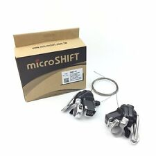 microSHIFT TS83-10 Aluminum 2 / 3 x 10 Speed Road Bike Thumb-tap Shifter Lever