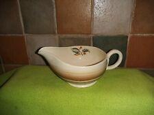 Lovely Vintage GRINDLEY vaisselle Sauce Cruche Bateau Motif no Grigri 321 Tan Beige