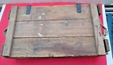Original German military Wooden Box Case WW2? for communication equipment Good