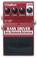 Digitech Bass Driver Overdrive/Distortion Bass Guitar Effects Pedal StompBox F/S