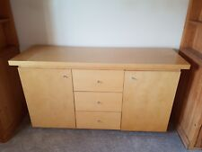 Next Light Wood beech birch 2 door 3 drawer sideboard cupboard dining room unit