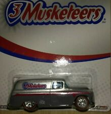 HOT WHEELS '55 CHEVY PANEL TRUCK, 3 Musketeers - RealRider