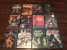 horror movie dvd lot Evil Dead Army Of Darkness Body Snatchers Land Of The Dead