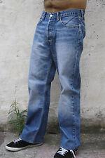 LEVIS 508 VINTAGE FADED JEANS DENIM BLUE 80s RED TAB LOOSE STRAIGHT LEG W31 L28