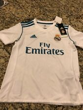 Real Madrid Adidas Home Replica Jersey 2017/2018 Youth Small