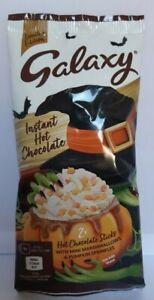 Galaxy Hot Chocolate Drink Sachets Marshmallows & Pumpkin Sprinkles NEW