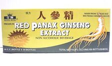 Royal King Red Panax Ginseng Extract 1 Box Of 30 Bottles Extra Strength 6000mg