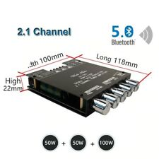 Mini Bluetooth 5.0 Digital Amplifier HiFi 2.1 Channel Audio Stereo Equalizer Amp