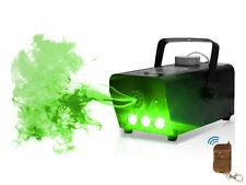 Humo Inalámbrico LED Verde/Máquina de Niebla 400W DJ Disco Club de luz láser Nebulizador pub