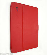 Speck StyleFolio Apple iPad Air 1 Case Stand Red/Grey Flip Leather Shell Cover