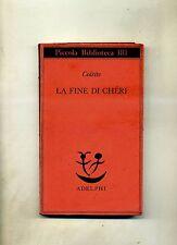 Colette # LA FINE DI CHÉRI # Adelphi 1985