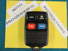 93-94-95-96-97 Ford Taurus Keyless Remote #3165189