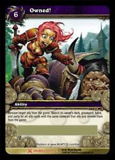 WORLD OF WARCRAFT WOW TCG : FLAG OF OWNERSHIP - OWNED LOOT CARD NEW UNSCRATCHED