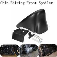 Front Spoiler Chin Fairing For Harley Davidson XL Sportster 883 1200 Matte Black