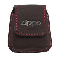 Zippo Pouch Feuerzeug Tasche Leder Mocca Leather Lighter Pouch 2005425