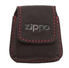 Zippo Pouch Feuerzeug Tasche Leder Mocca Leather Lighter Pouch 2005425