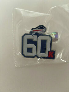 2015 Buffalo Bills Football Pin Back 60K 60000 Season Ticket Holders Limited